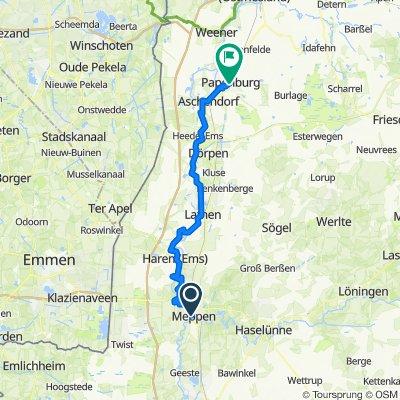 Ems-Radweg 5/6 Meppen-Papenburg