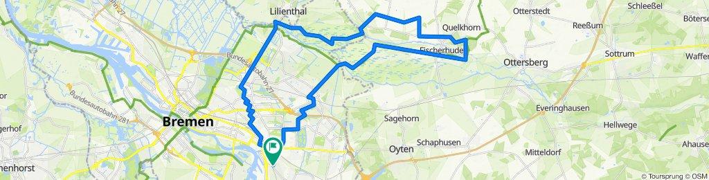 Rundtour Bremen - Fischerhude