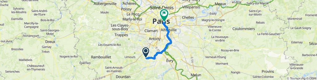 Marcoussis-Paris