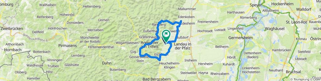 Route von Weinstraße 48, Birkweiler