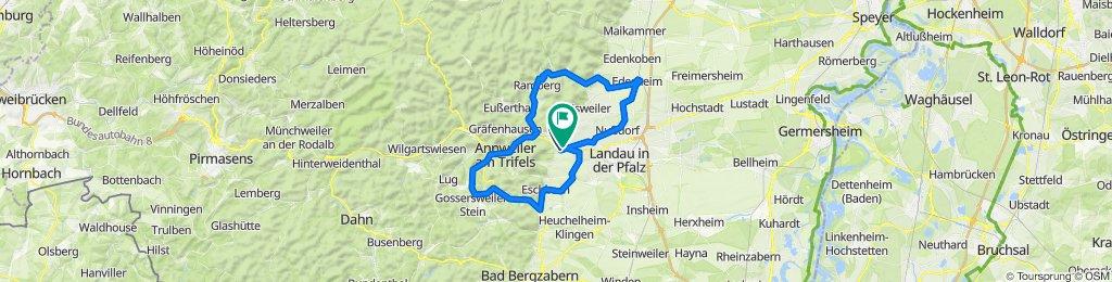 Route von Weinstraße 31, Birkweiler