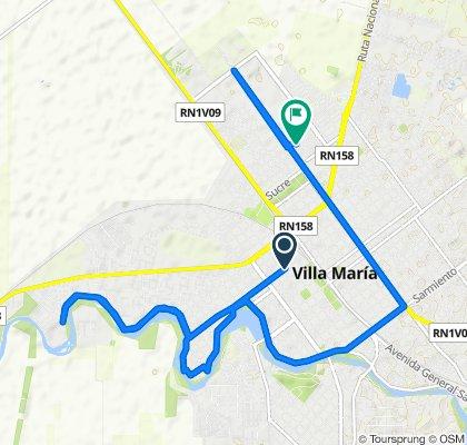 De La Rioja 601–699, Villa María a Consejal Paradella, Villa Maria