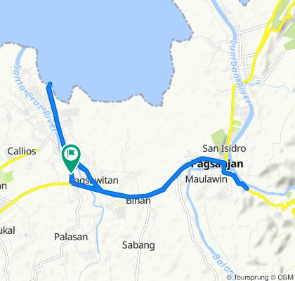 Barangay Patimbao Road 254, Santa Cruz to Barangay Patimbao Road 254, Santa Cruz