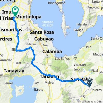 San Pablo - Dolores Road 253, San Pablo City to Ilem Road, Bacoor