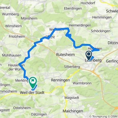 Rund um Landkreis BB Teil 2 Leonberg-Weissach-Weil der Stadt