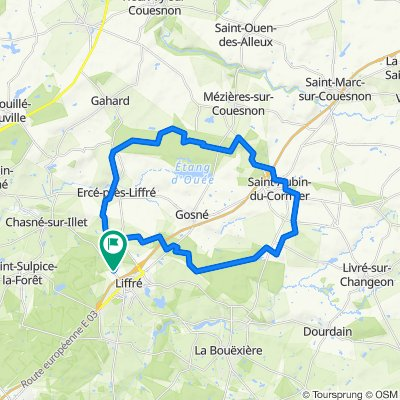 Forêts de Liffré et Saint-Aubin-du-Cormier - 16637 - UtagawaVTT.com