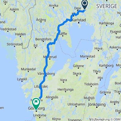Molkom-Gothenburg