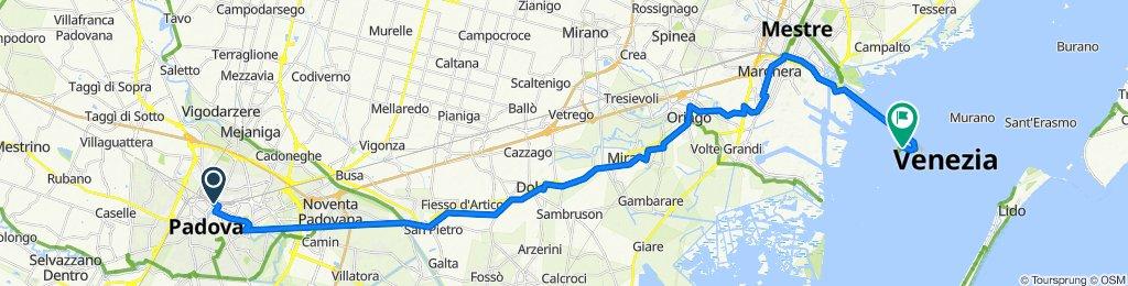 da Padova a Venezia in bicicletta