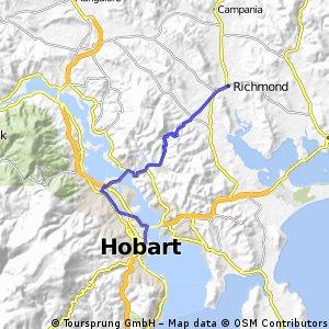 Tassie Day 8 Richmond to Hobart
