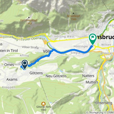Nasse-Tal-Route