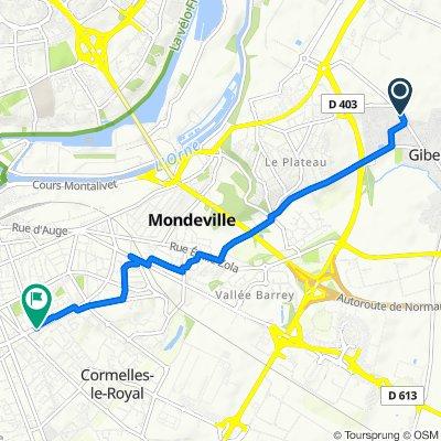 De 42 Rue de la Liberté, Giberville à 48 Boulevard Raymond Poincaré, Caen
