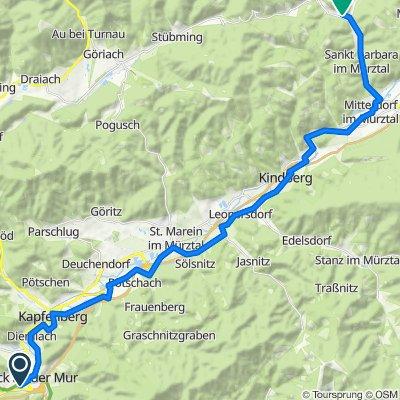 Etappe 6a Bruck-Veitsch