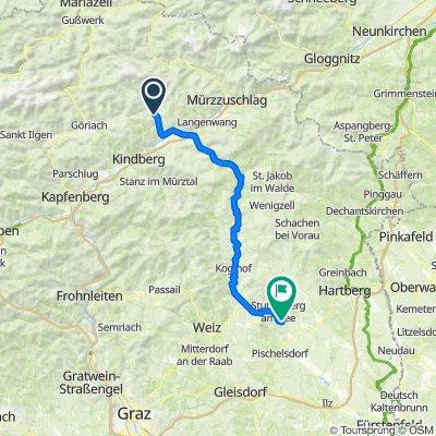 Etappe 6b Veitsch-Stubenberg