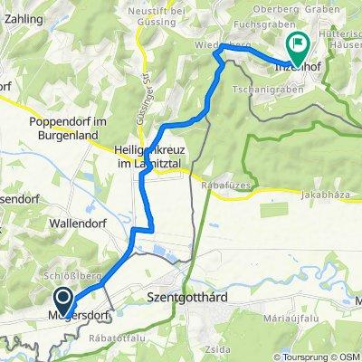Mogersdorf 184, Mogersdorf nach Inzenhof 10, Inzenhof