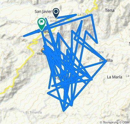 De Variante Soacha-La Mesa a Carrera 21 A 9-33, La Mesa