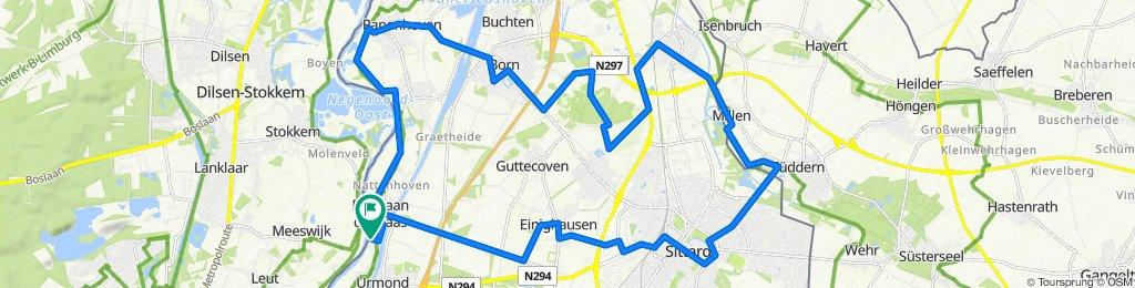 Berg aan de Maas - Ründchen Obbicht - Grevenbicht - Born - Nieuwstadt - Millen - Tüddern - Sittard - Einighausen und zurück 2020