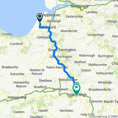 Westward Ho! to Hatherleigh