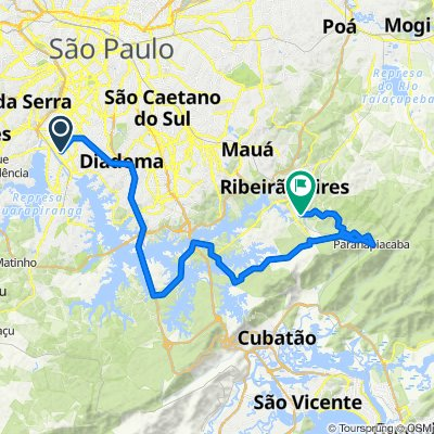 Campo Grande to Paranapiacaba to RGS