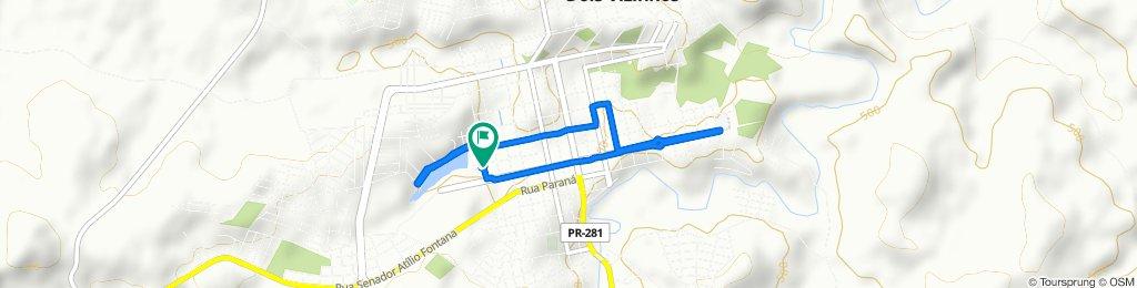 De Rua Santos Dumont, 1144–1280, Dois Vizinhos a Rua Santos Dumont, 1144–1280, Dois Vizinhos