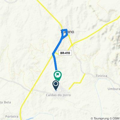 De Rua Antonio Lucas, 1–69, Tucano a Estrada para Tucano, 3627–3685, Tucano