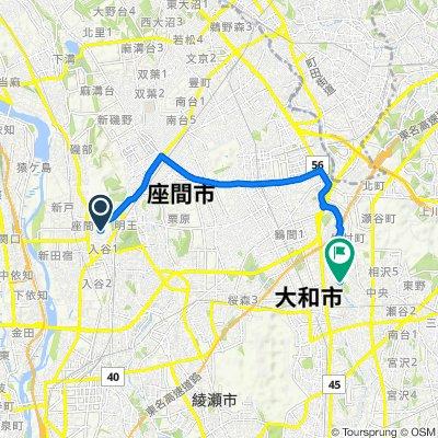 Zama, Zama-Shi to 1828, Fukami, Yamato-Shi