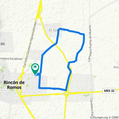 Ruta relajada en Rincón de Romos