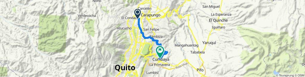 Quito - Chaquiñann