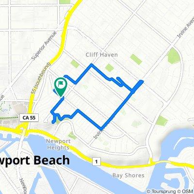 465 Santa Ana Ave, Newport Beach to 465 Santa Ana Ave, Newport Beach
