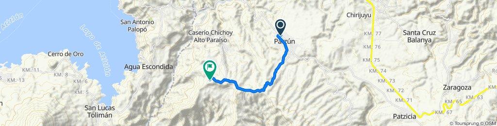 De 7a Avenida 173, Patzún a Unnamed Road, Caserío Chuinimachicaj