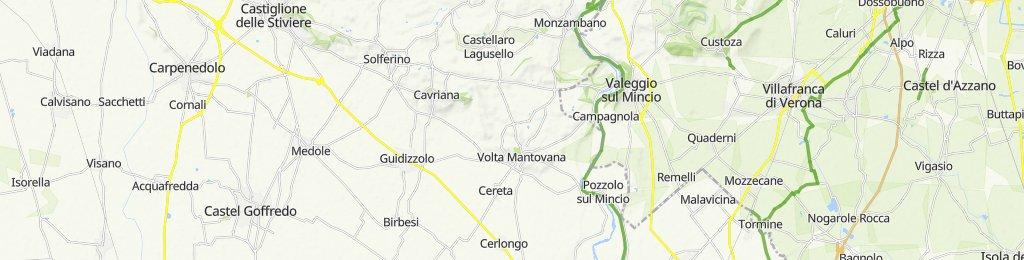 Da Via Po 39, Guidizzolo a Via Po 41, Guidizzolo