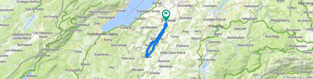 De Les Sorbiers 2, Payerne a Les Sorbiers 4, Payerne