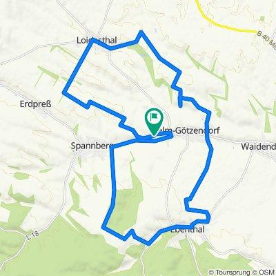 Sonntags Runde 30km