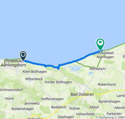 Tour  nach Nienhagen