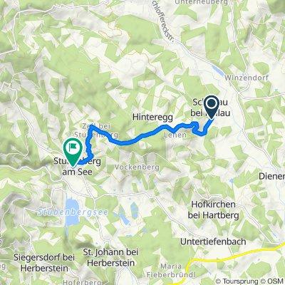 Schöneggtour HB9 - Anspruchsvolle Radtour