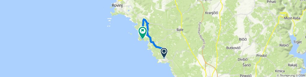 Unnamed Road, Peroj to Rovinj