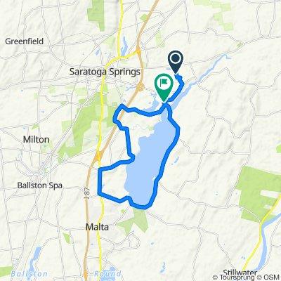 Ride Around Saratoga Lake