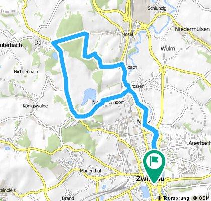 Radio-aktive Tour: Zwickau - Dänkritzer Schmiede - Zwickau