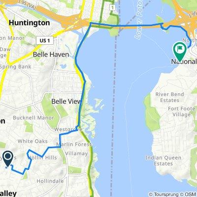 De 2719 Arlington Dr, Alexandria a 189 Waterfront St, Oxon Hill