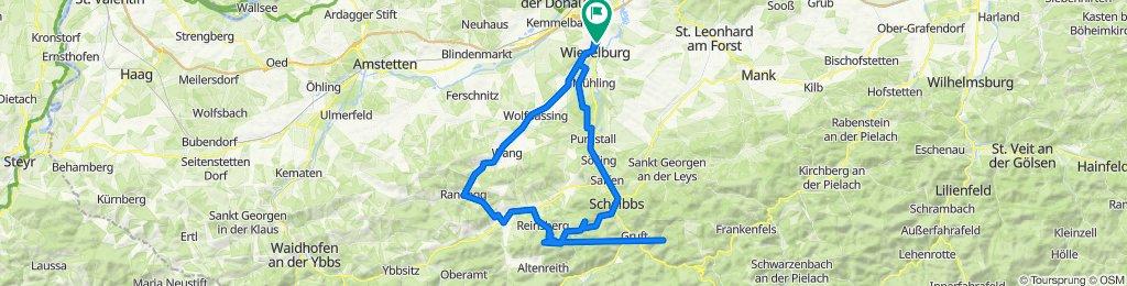 Wieselburg..Gresten...Reinsberg..Hochschlag..Lieggraben.. Scheibbs..Wbg