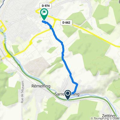 Steady ride in Sarreguemines