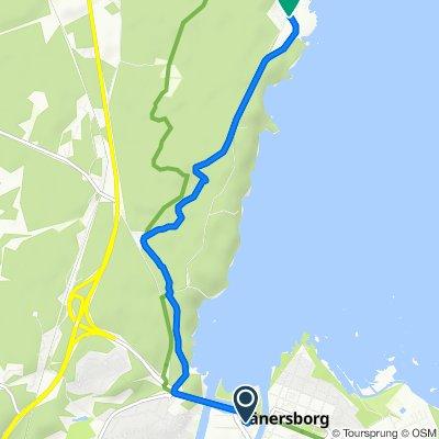 Route von Brogatan 4, Vänersborg