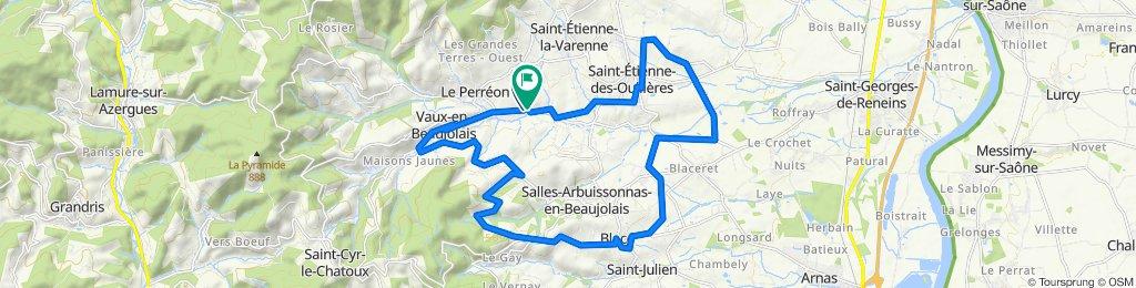 De 305 Chemin du Vallon, Le Perréon à 181 Chemin du Vallon, Le Perréon