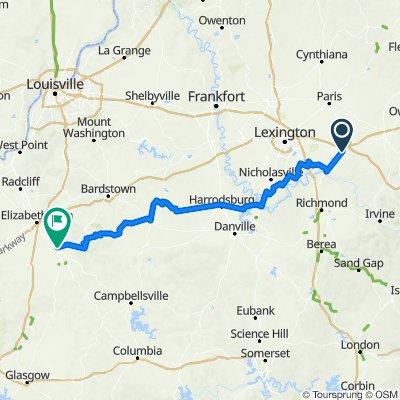 Winchester-Hodgenville, Kentucky