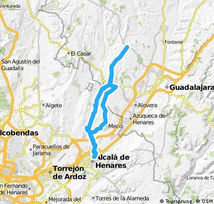 Alcala de Henares- Usanos- Alcalá