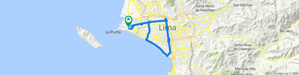 de Callao a Miraflores y al Centro de Lima