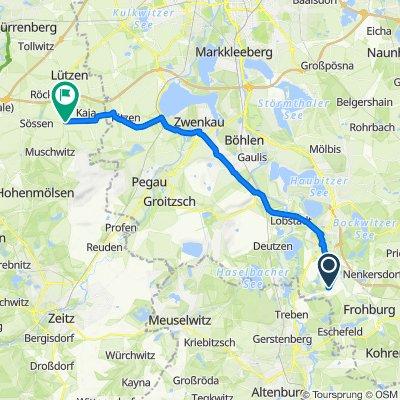 Obersteigerweg 8, Borna nach Am Dorfplatz 4, Lützen