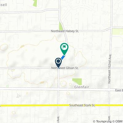 442 NE 148th Ave, Portland to 800 NE 148th Ave, Portland