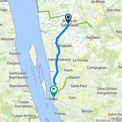 De La Rouline, Braud-et-Saint-Louis à 31bis Rue Saint-Romain, Blaye