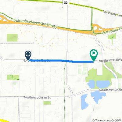 19004 NE Halsey St, Gresham to 20650 NE Halsey St, Fairview