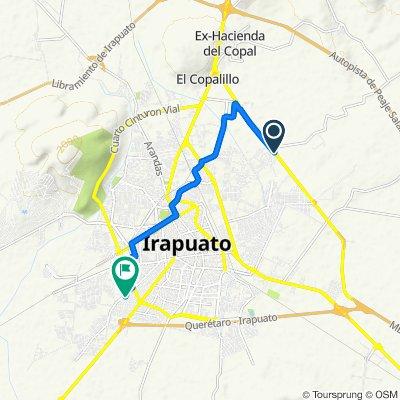 De Silao-Irapuato 34, Lo de Juárez a Margarita 185, Irapuato